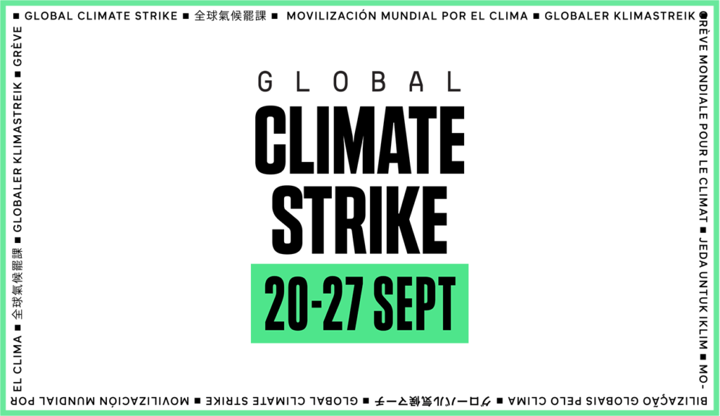 Global Climate Strike → Sep  20–27